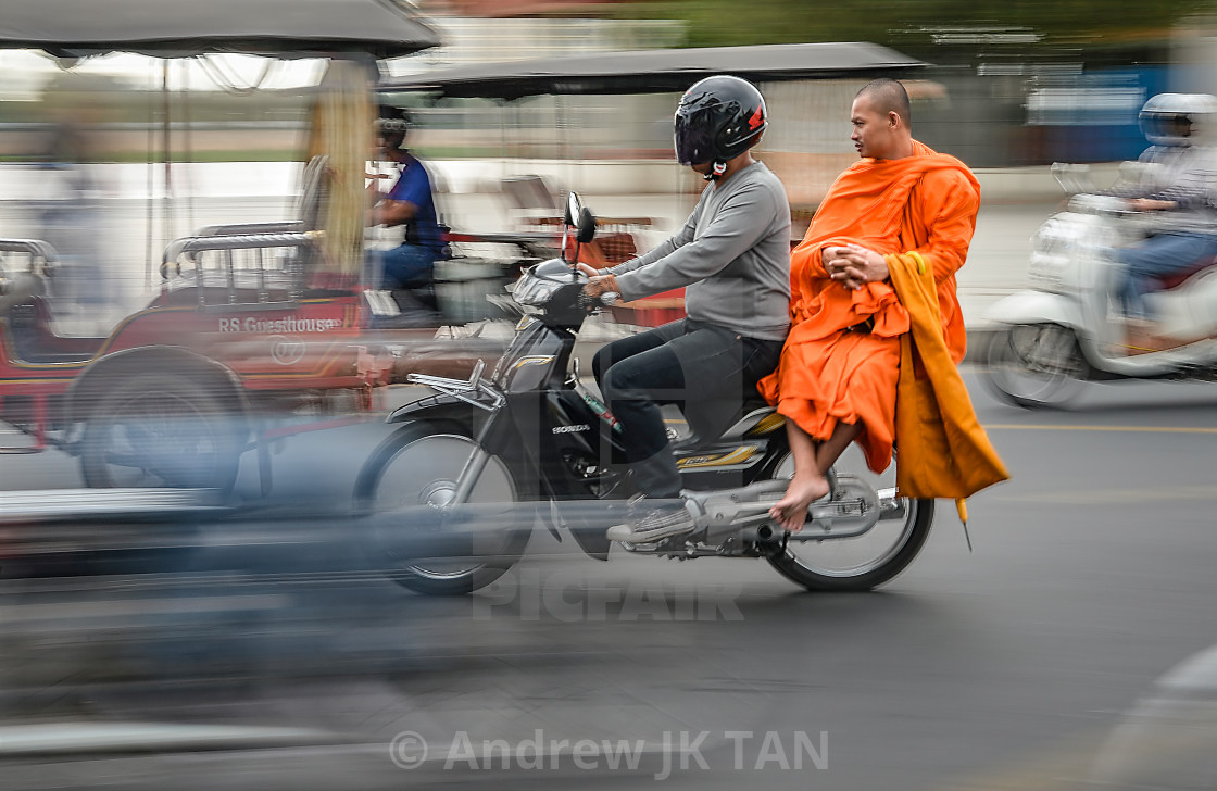 """Phnom Penh life 02"" stock image"