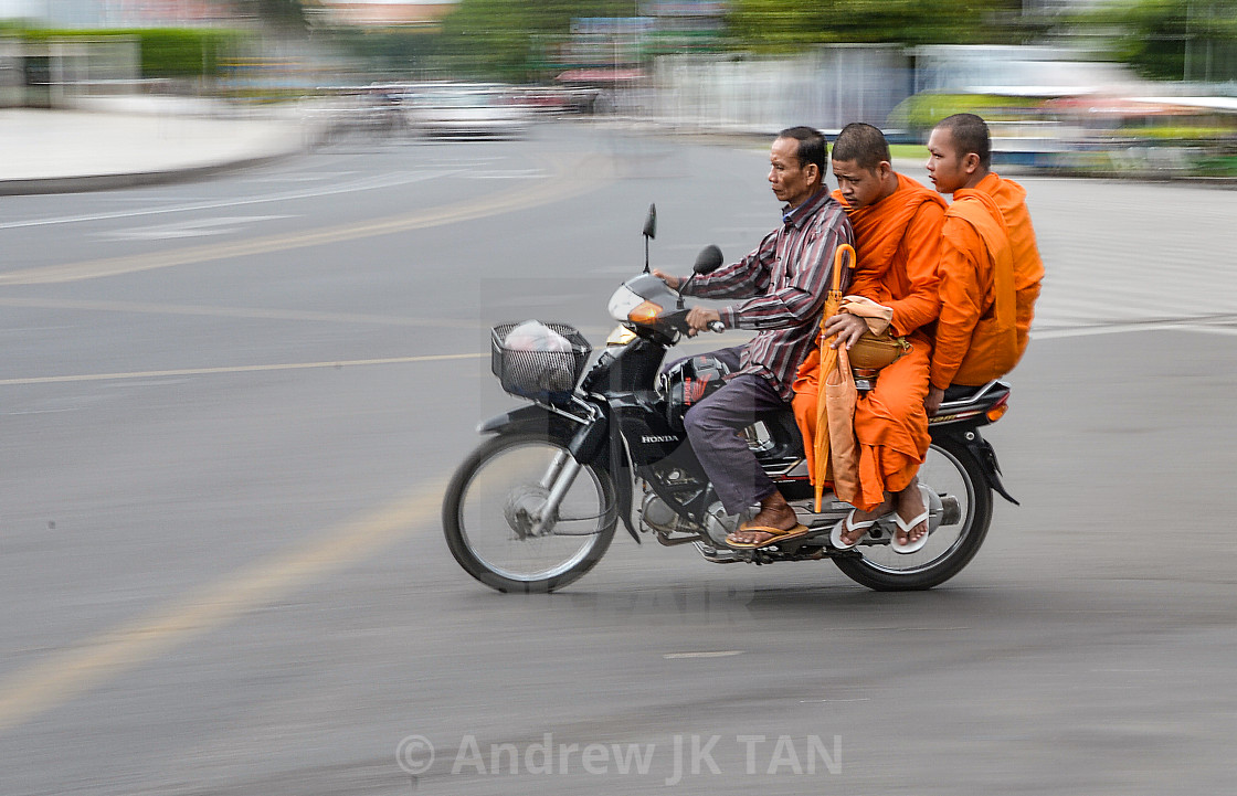 """Phnom Penh life 01"" stock image"