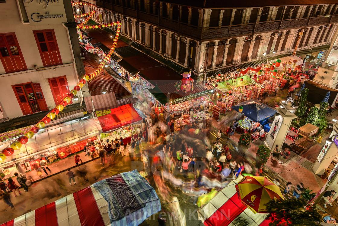 """""""Chinatown 01"""" stock image"""