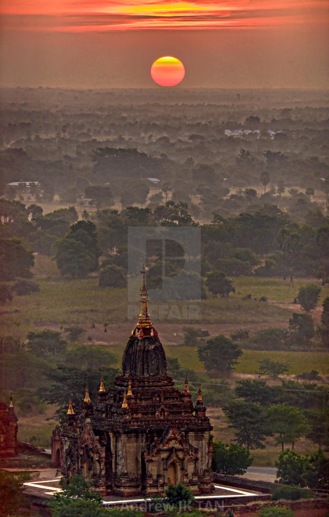 """""""Bagan Temples 02"""" stock image"""