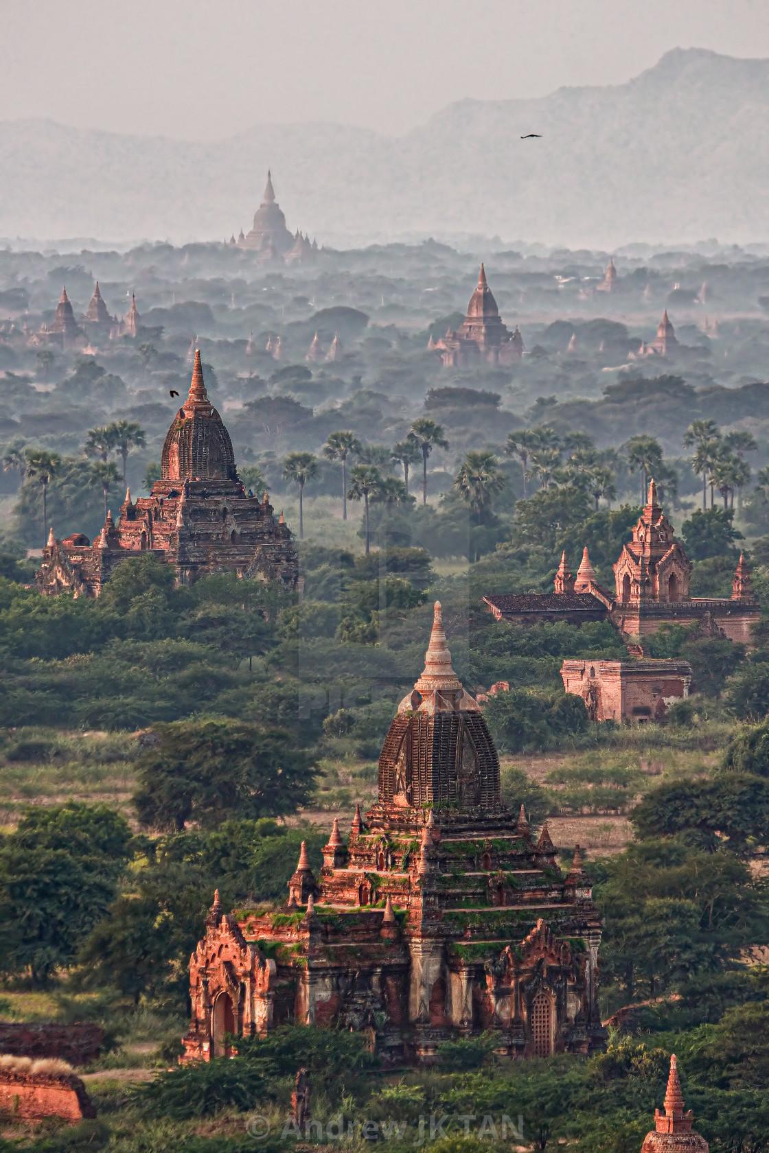 """""""Bagan Temples 03"""" stock image"""