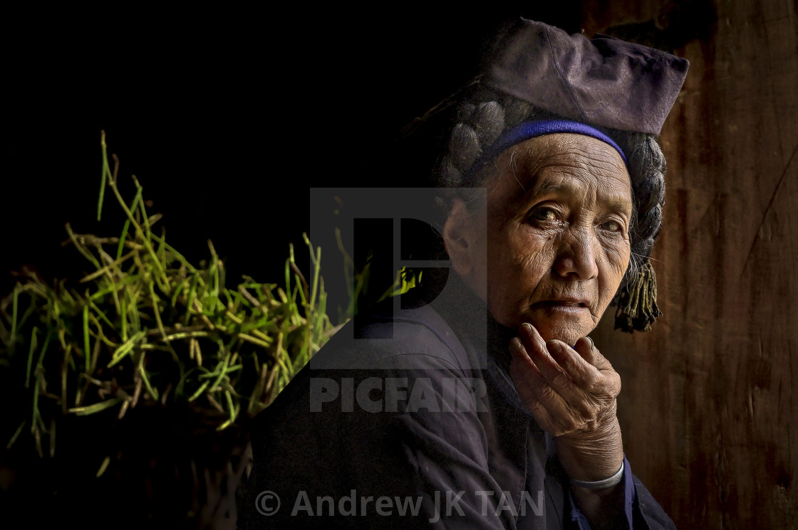 """Ha Nhi Elder"" stock image"