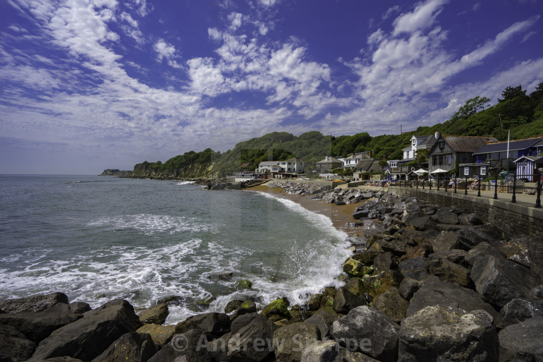 """""""Steephill Cove, Isle of Wight"""" stock image"""
