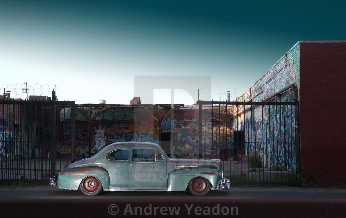 """The Armageddon Car"" stock image"