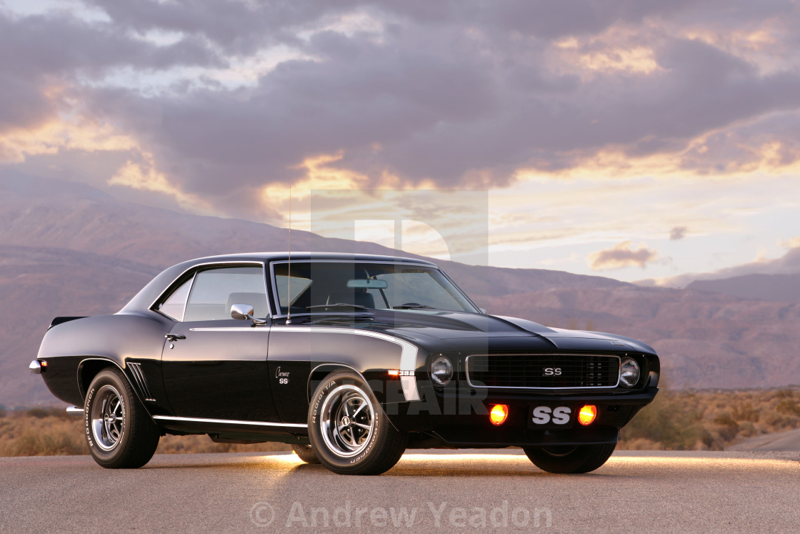 """Chevrolet Camaro RS/SS 1969"" stock image"