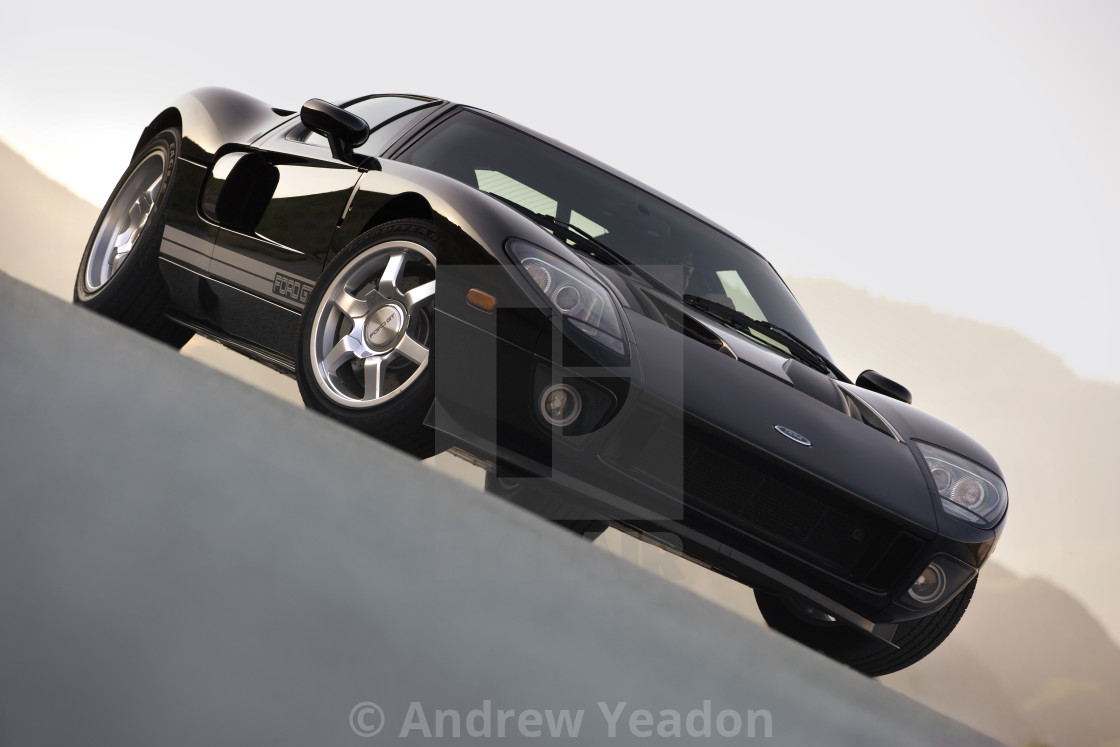 """Ford GT 2006"" stock image"