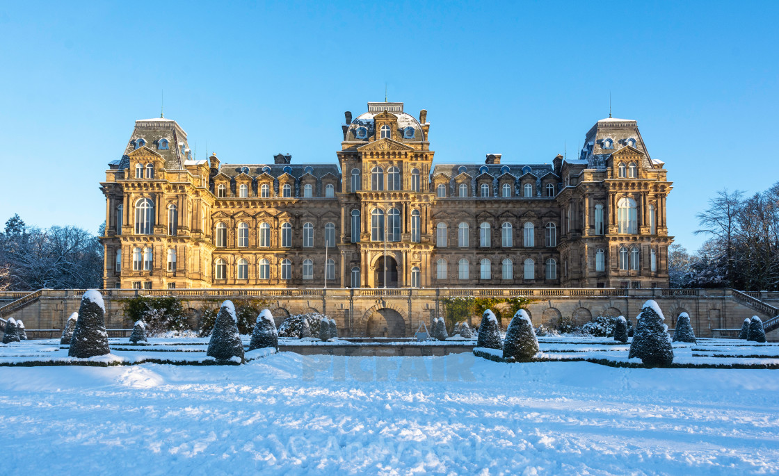"""The Bowes Museum"" stock image"
