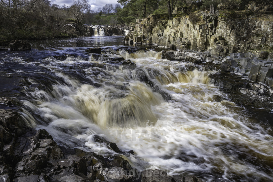 """""""Low Force waterfall"""" stock image"""
