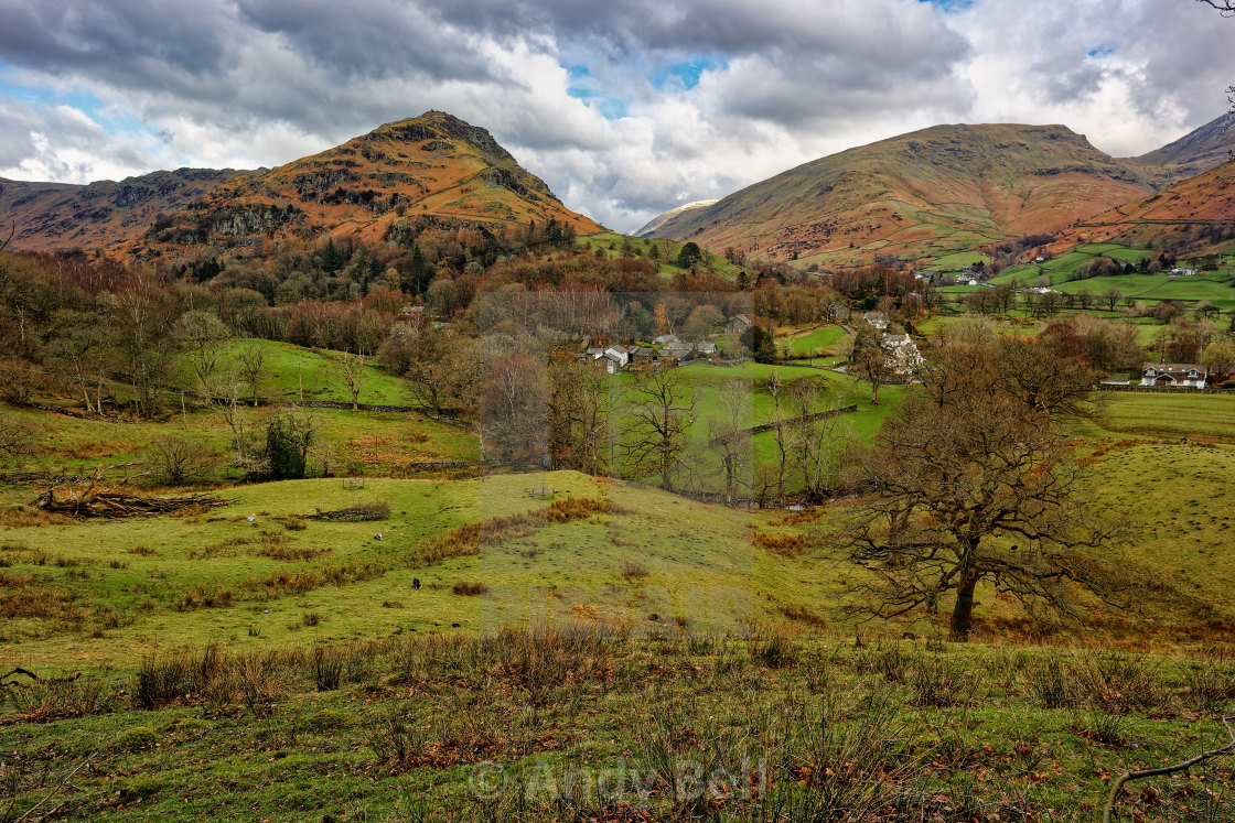 """""""Helm Crag and Stone Arthur"""" stock image"""