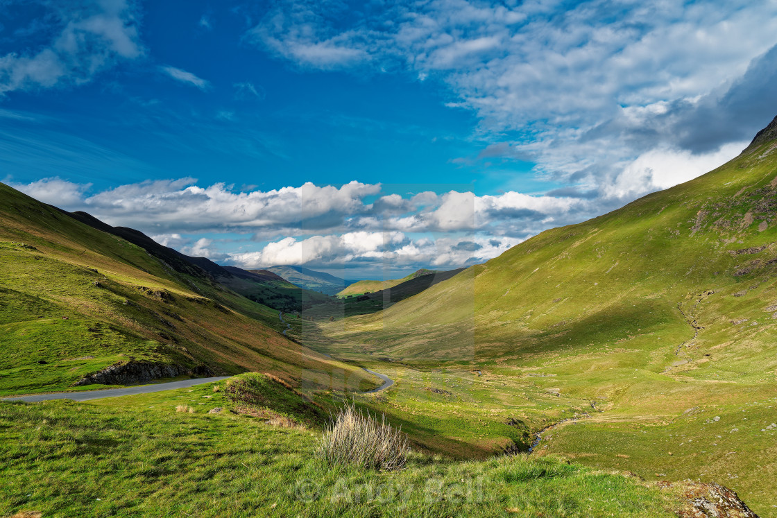 """""""The Delightful Newlands Valley"""" stock image"""