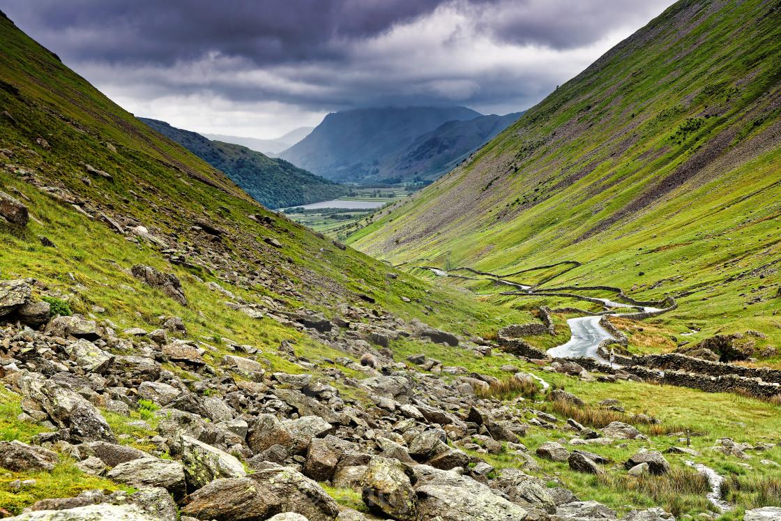 """""""The Kirkstone Pass"""" stock image"""
