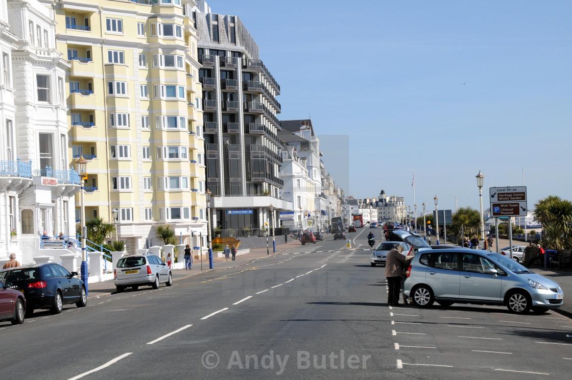 """Grand Parade, Eastbourne, East Sussex, England"" stock image"