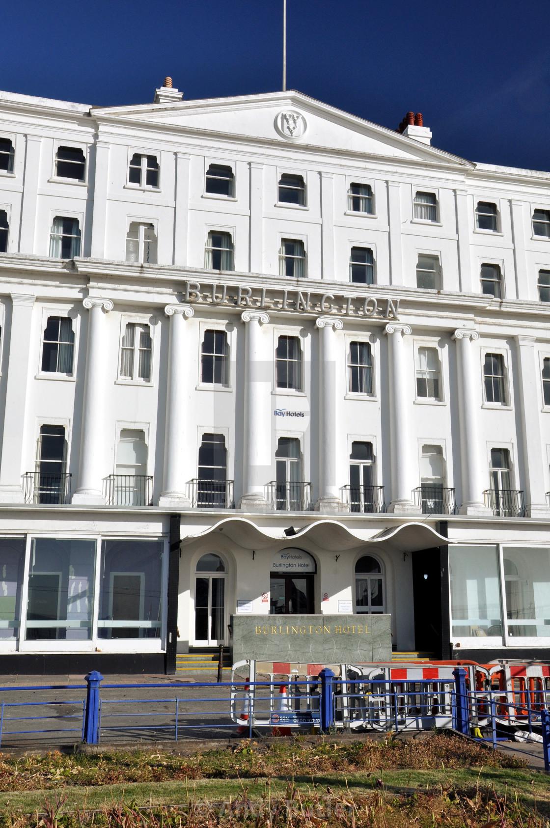 """Burlington Hotel_Eastbourne"" stock image"