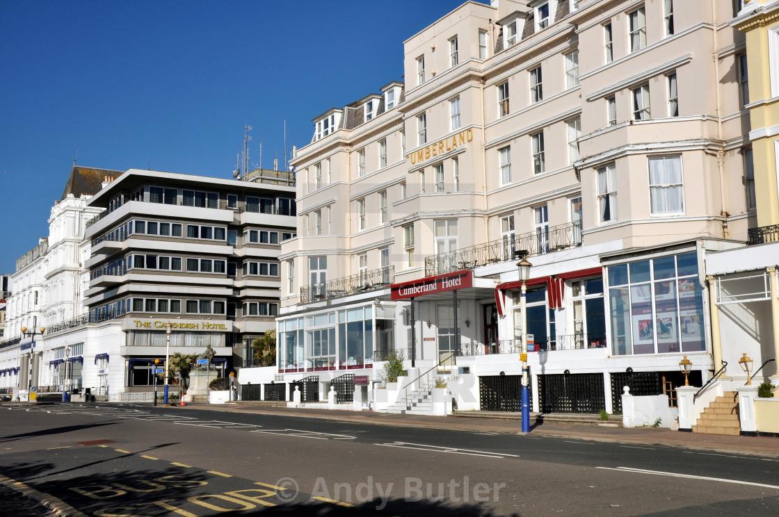 """""""Grand Parade, Eastbourne"""" stock image"""