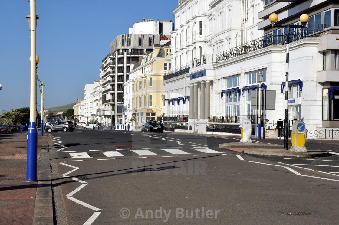 """""""Grand Parade Eastbourne"""" stock image"""