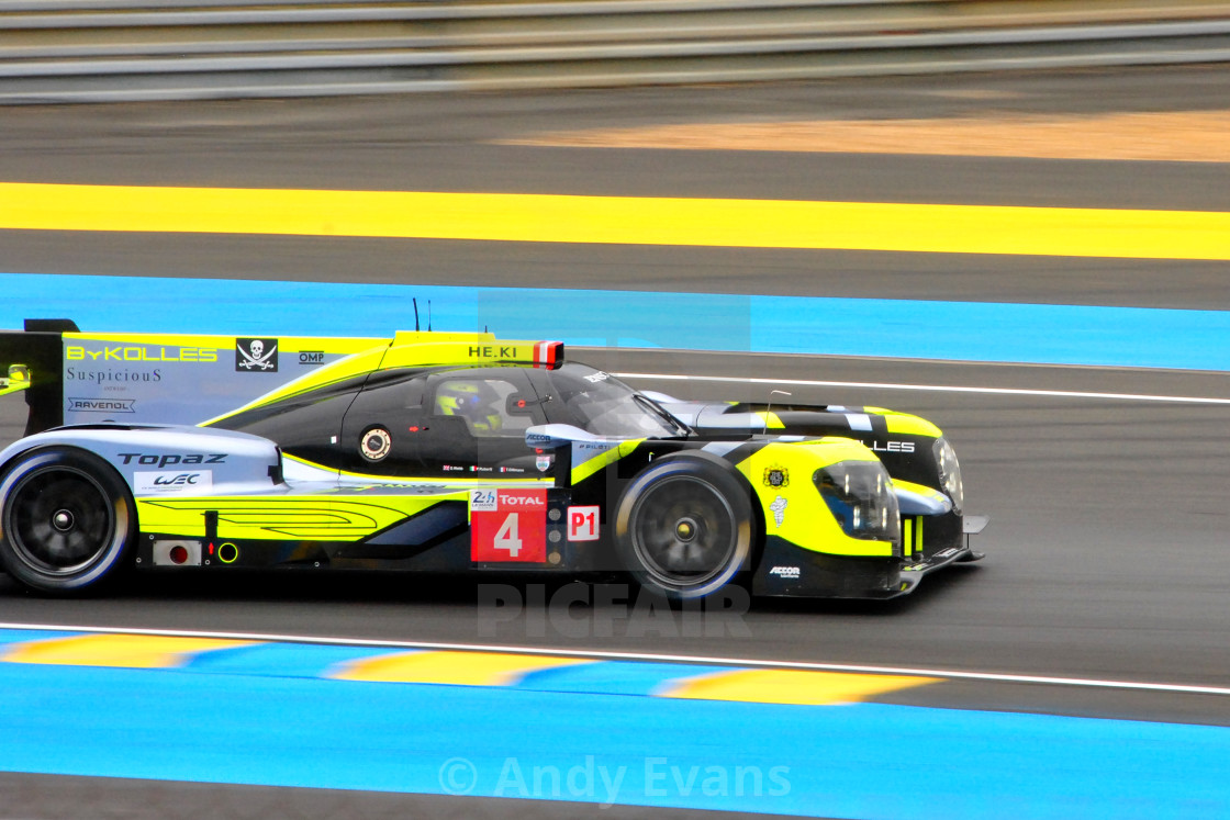 """""""ENSO CLM P1/01 Gibson no4 24 Hours Of Le Mans 2019"""" stock image"""