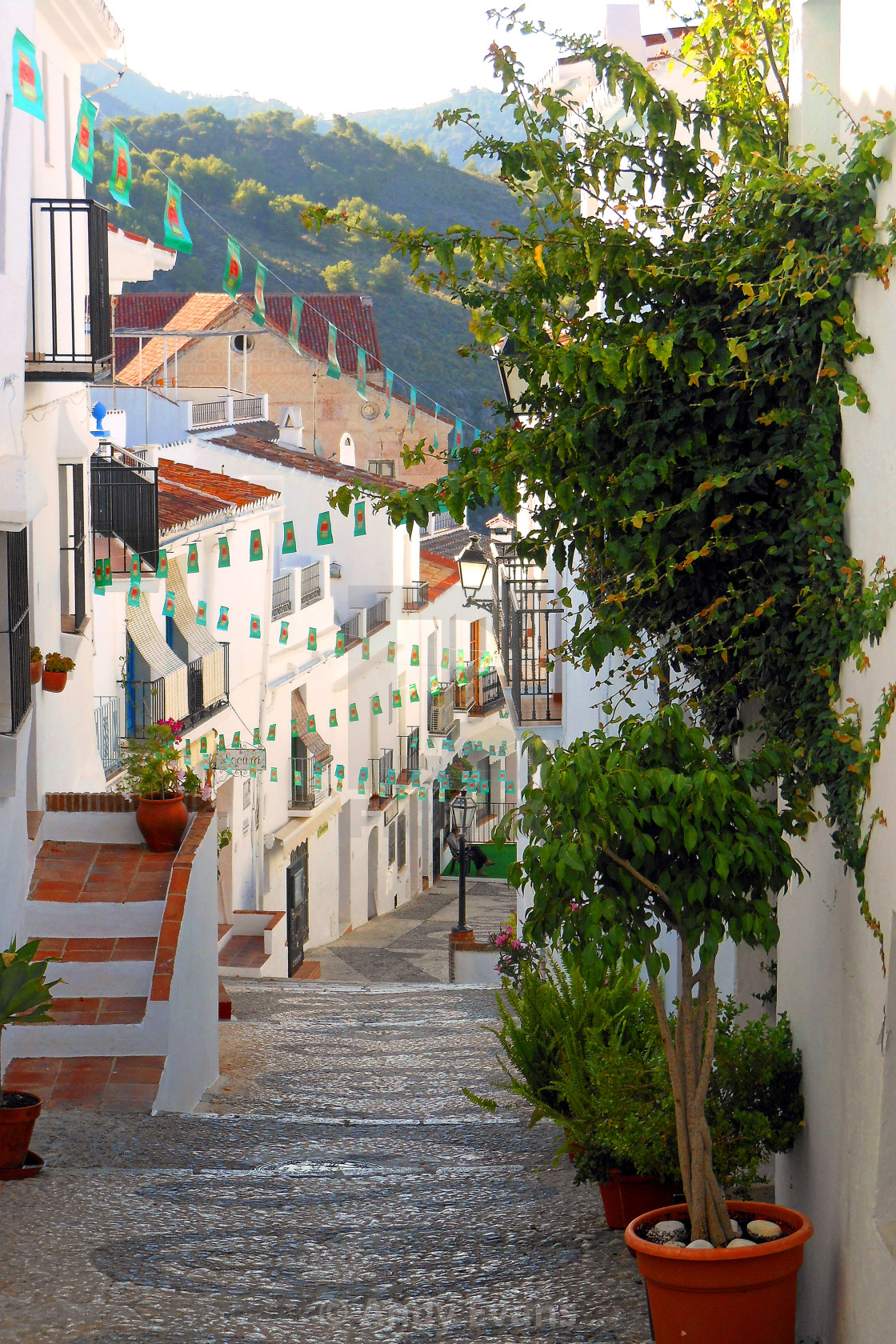 """Frigiliana Andalucia Costa Del Sol Spain"" stock image"
