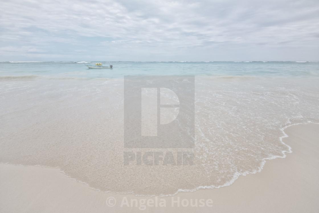 """Caribbean Sea in Punta Cana"" stock image"