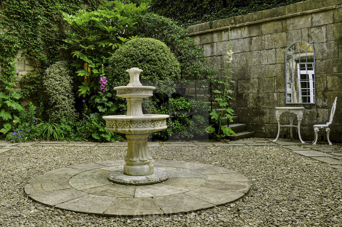 English Cottage Garden With Water Feature License Download Or Print For 4 96 Photos Picfair