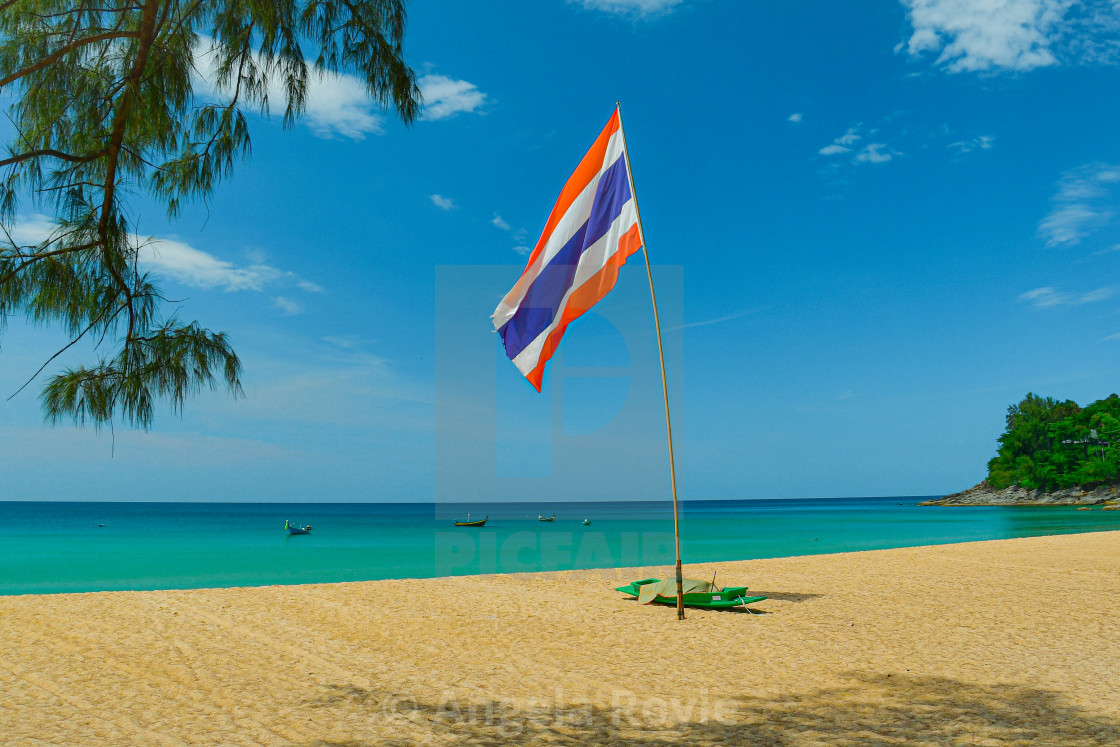 """""""Tropical beach in Thailand"""" stock image"""