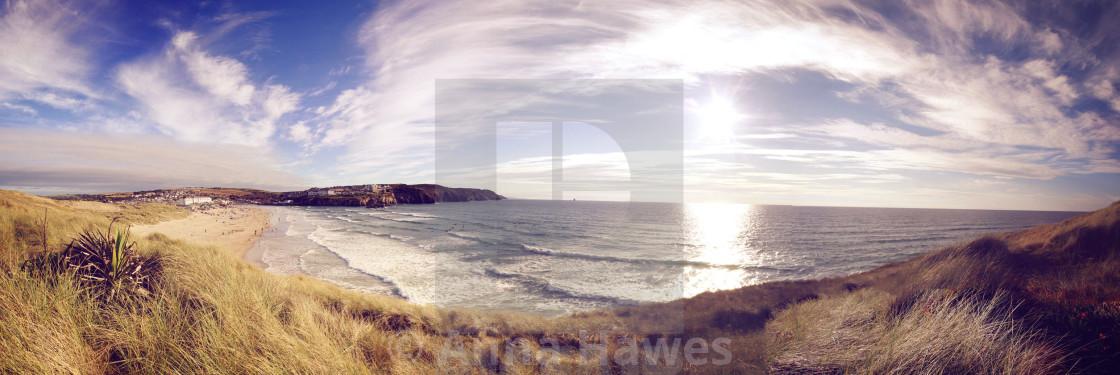 """Perranporth, Cornwall"" stock image"