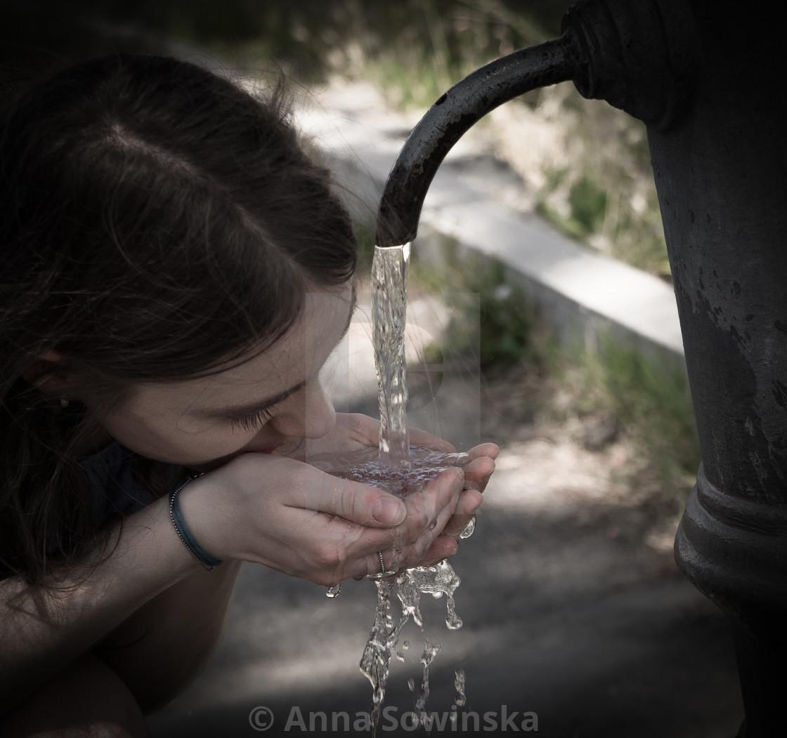 """""""Nasone fountain"""" stock image"""