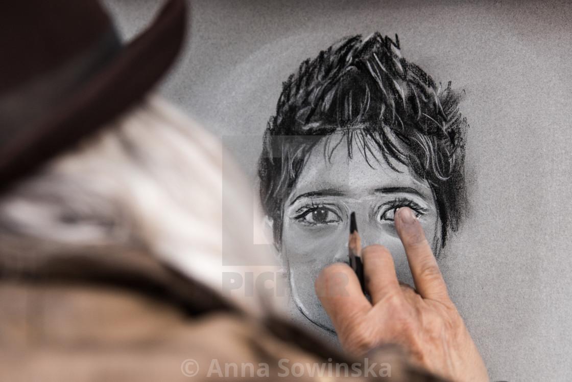 """Portrait"" stock image"