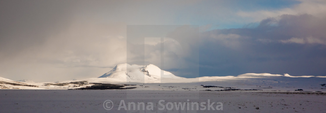 """""""Winter in Iceland"""" stock image"""