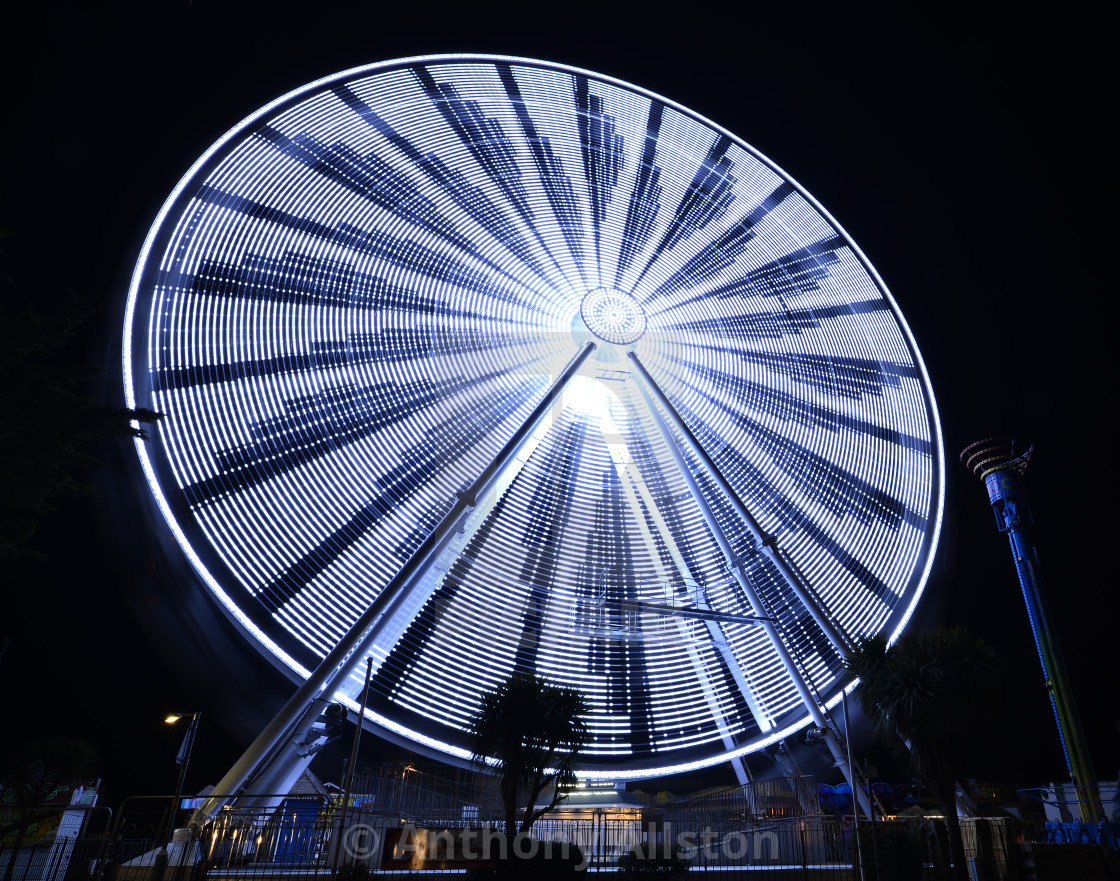 """Observatory Wheel, Clacton, Essex"" stock image"