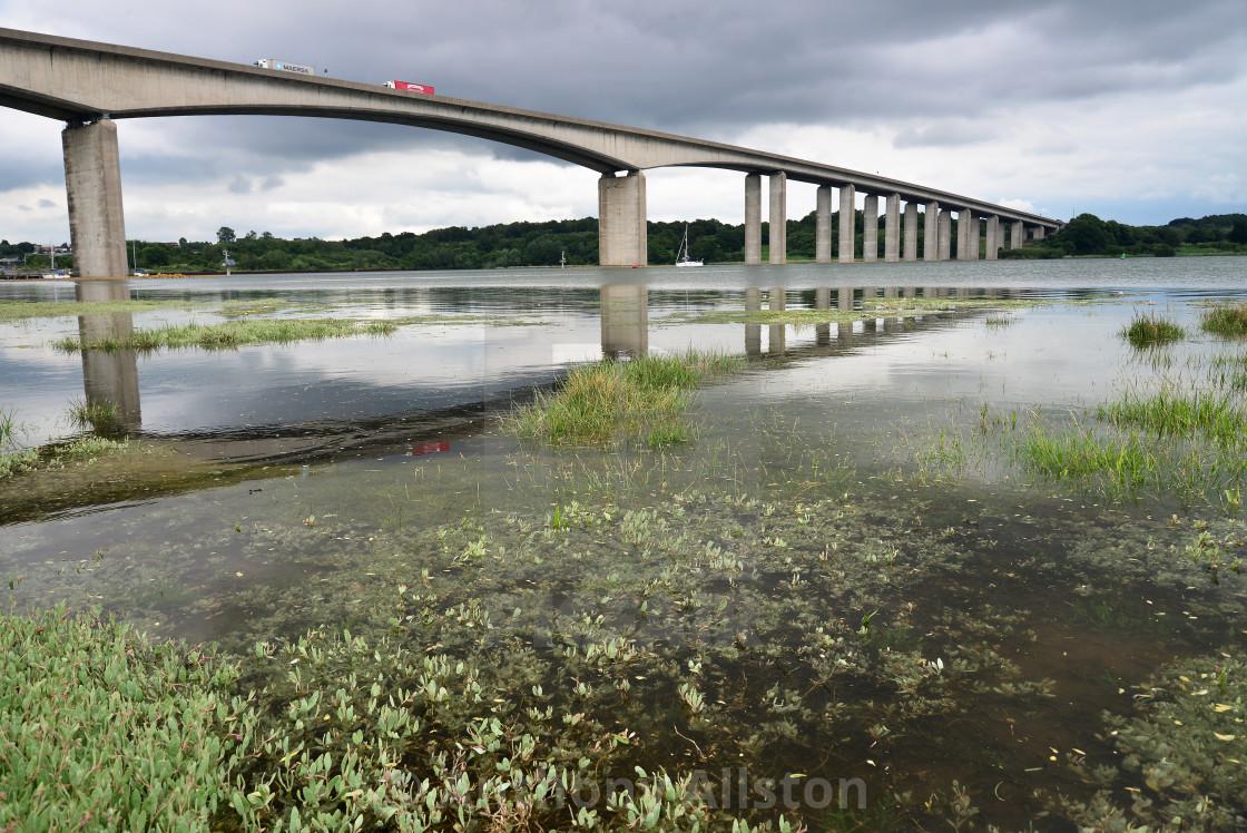 """""""Orwell Bridge"""" stock image"""