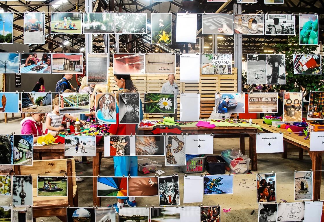"""""""Photo Exhibition"""" stock image"""