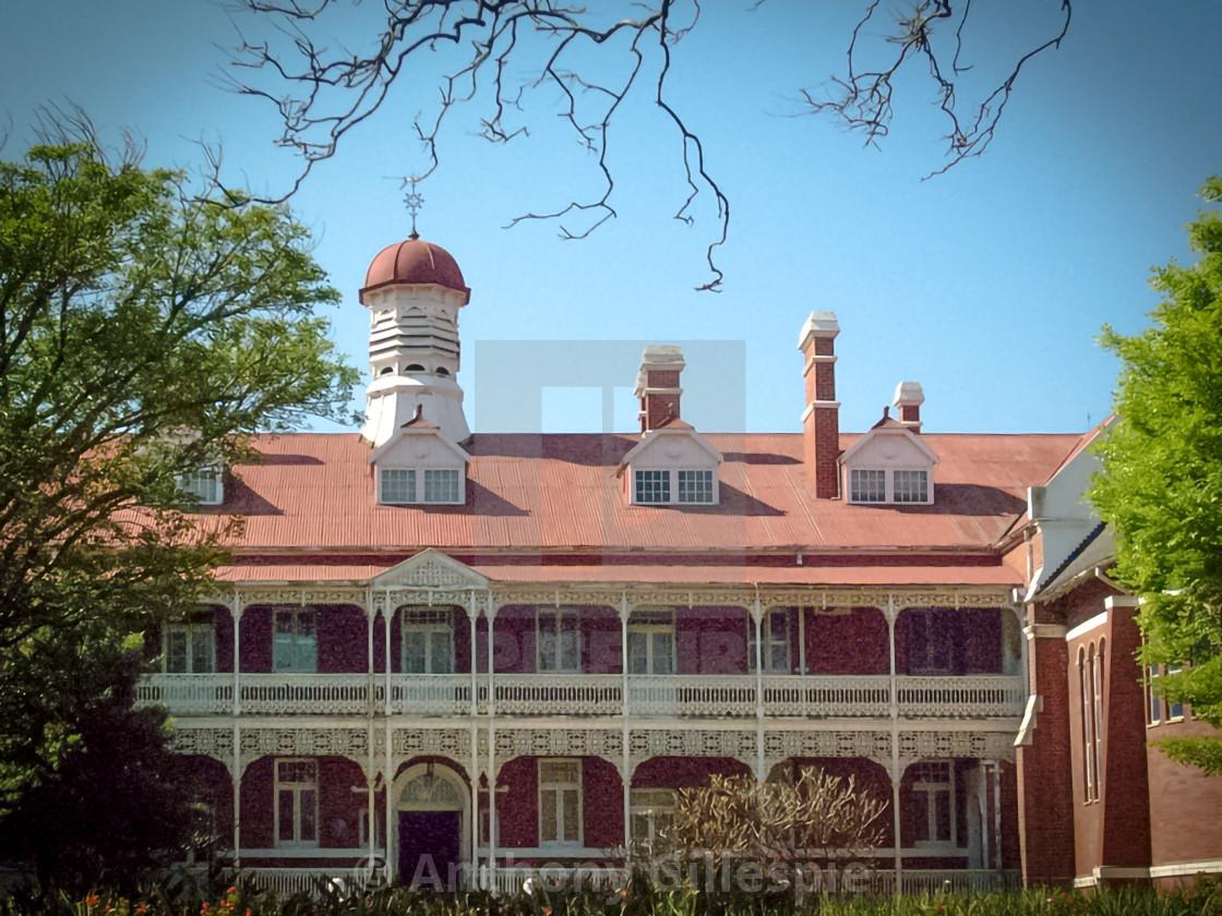 """Parktown Convent Heritage Site"" stock image"