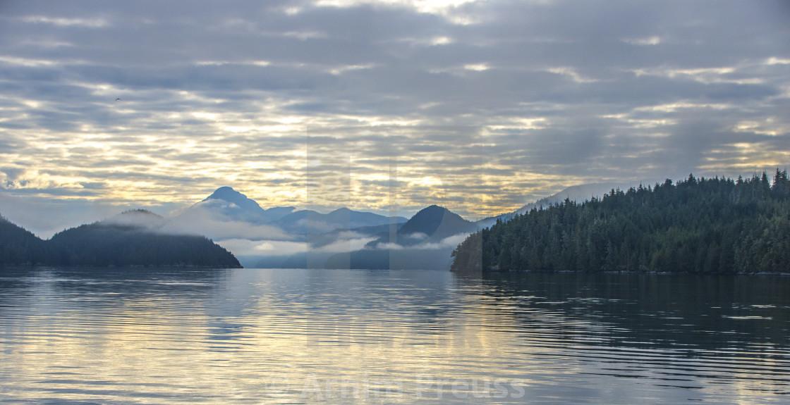"""Seascape At Dawn"" stock image"