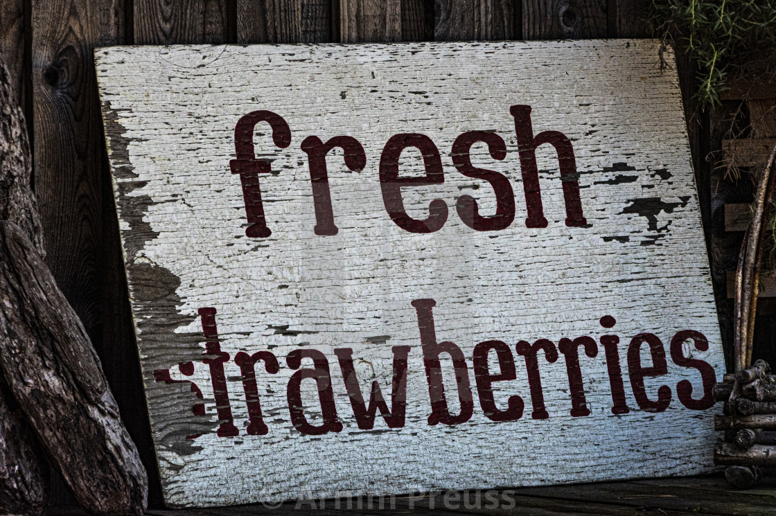 """Fresh Strawberries"" stock image"
