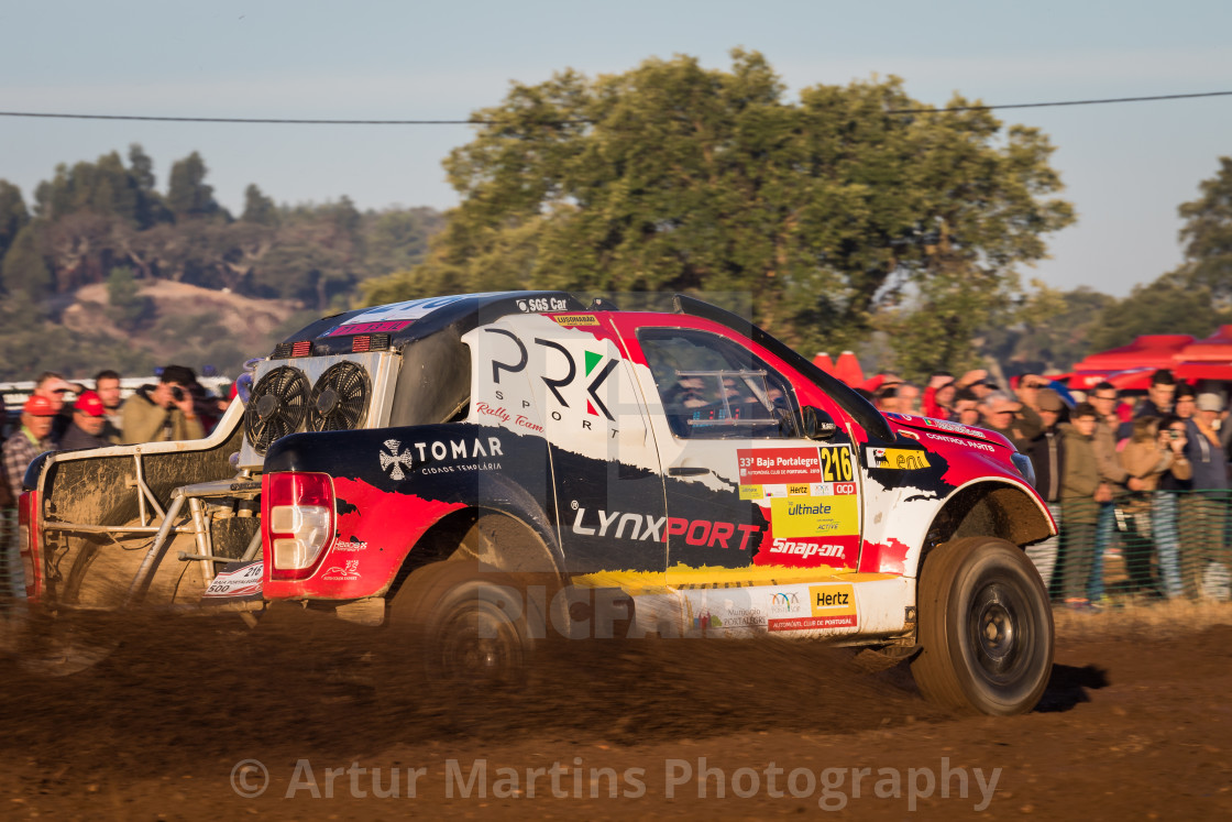 """An off-road car Ford MO EXR05 Proto during the Baja TT Portalegre 500 2019"" stock image"