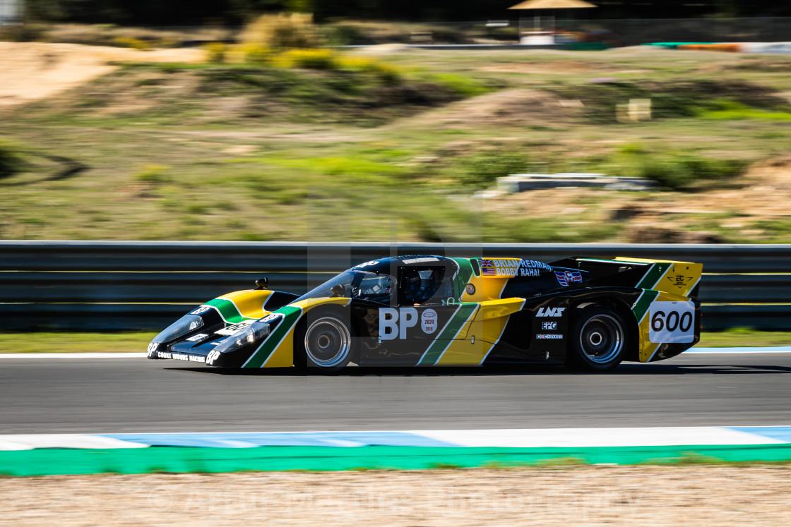 """A Lola classic race car during Estoril Classics 2020"" stock image"