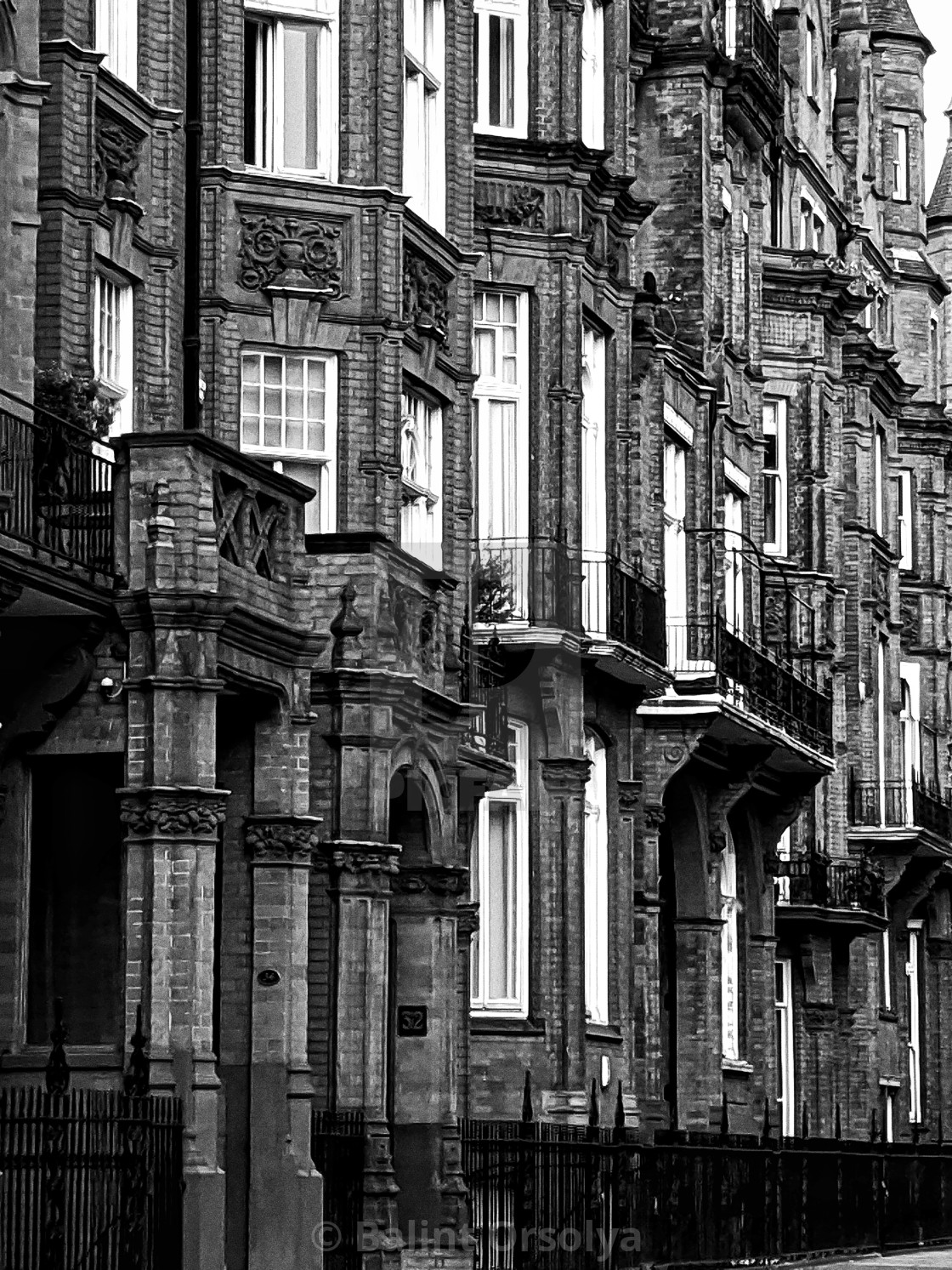 """England buildings"" stock image"