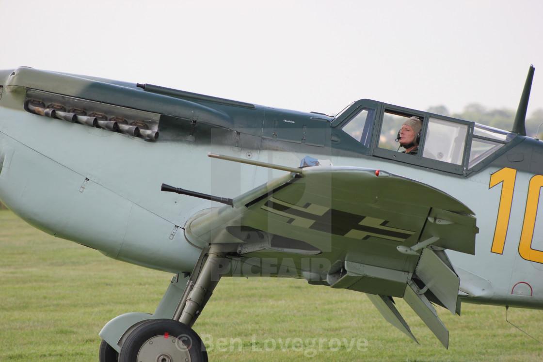 """""""Messerschmitt BF109"""" stock image"""