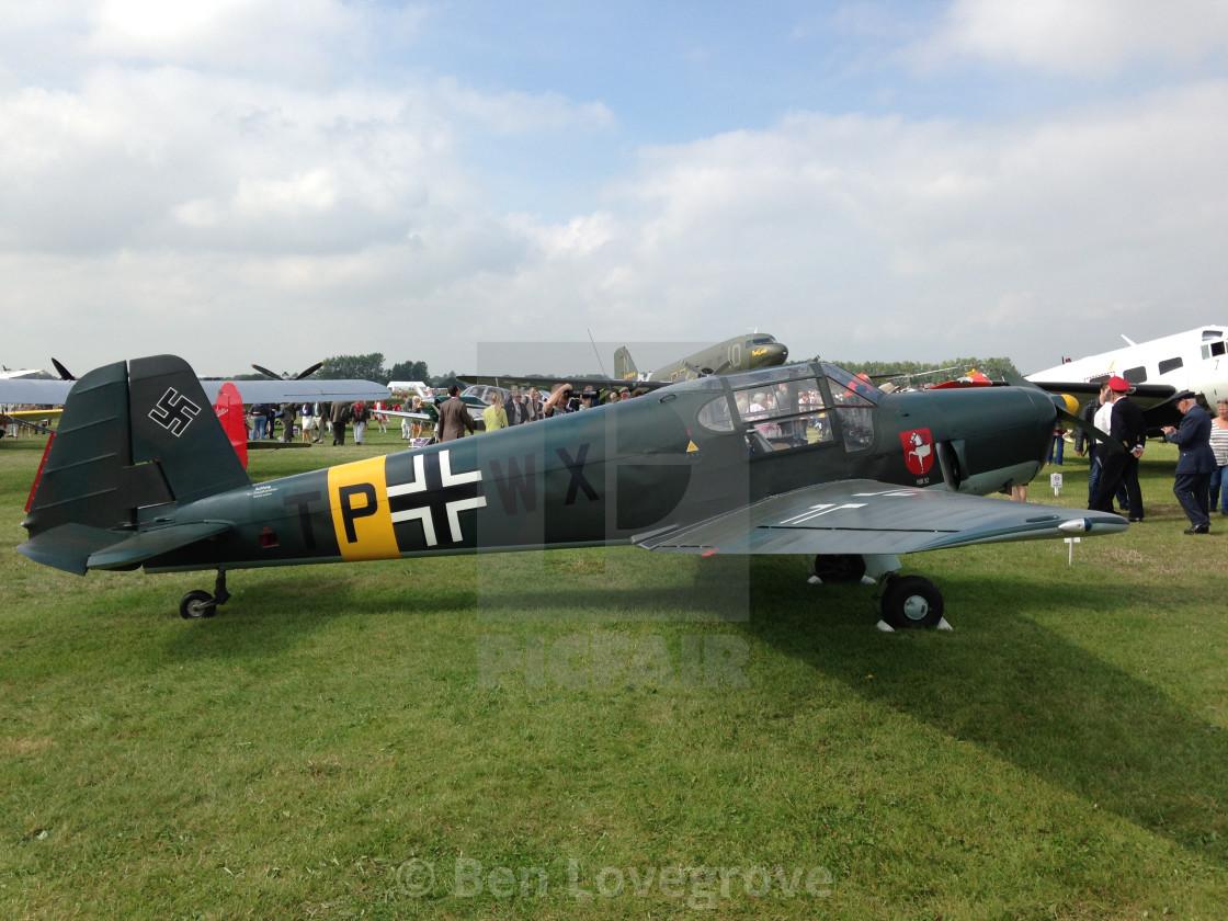 """""""Messerschmitt BF108"""" stock image"""