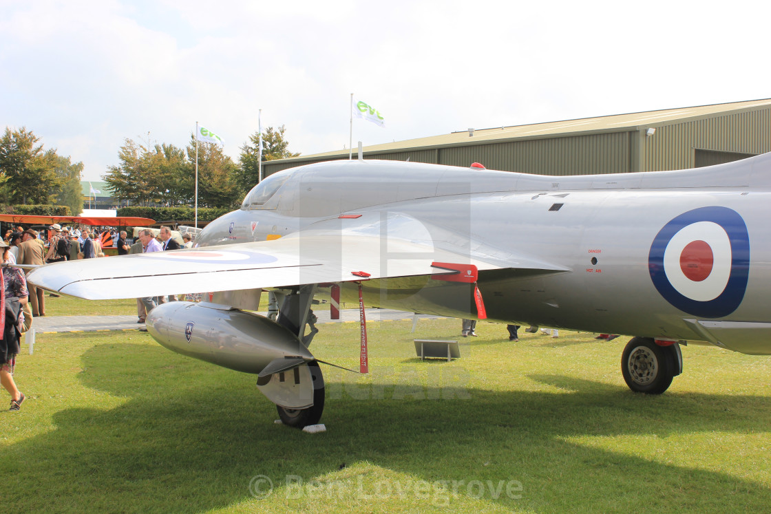 """Hawker Hunter XE665"" stock image"