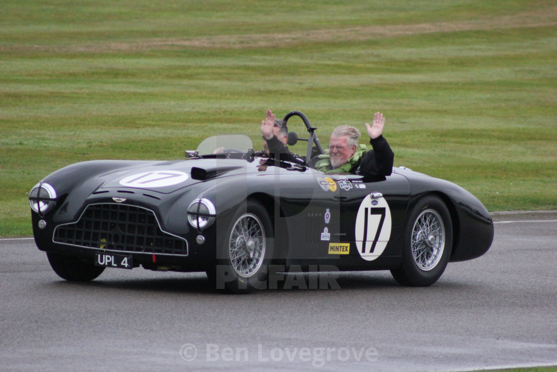 """The Race Winners, Goodwood Revival, 2017"" stock image"