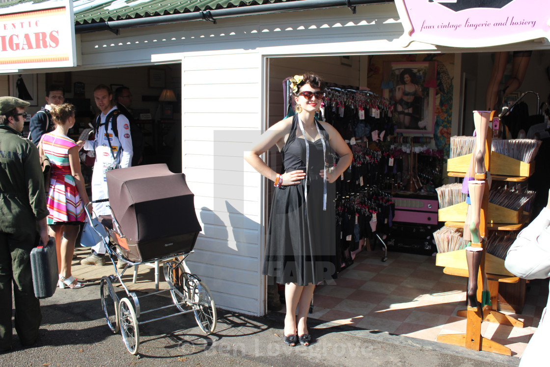 """""""""""What Katie Did"""", Goodwood Revival"""" stock image"""