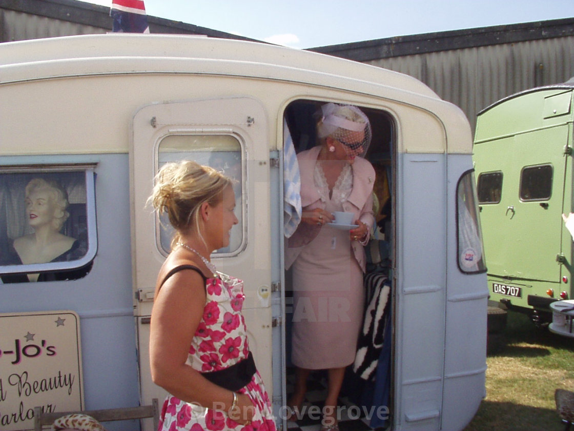 """""""Goodwood Revival 2003"""" stock image"""