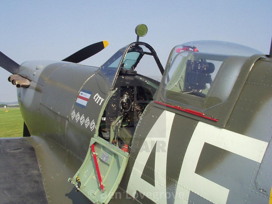 """Supermarine Spitfire"" stock image"