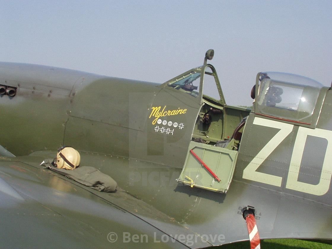 """Supermarine Spitfire IXb ""Mylcraine"""" stock image"