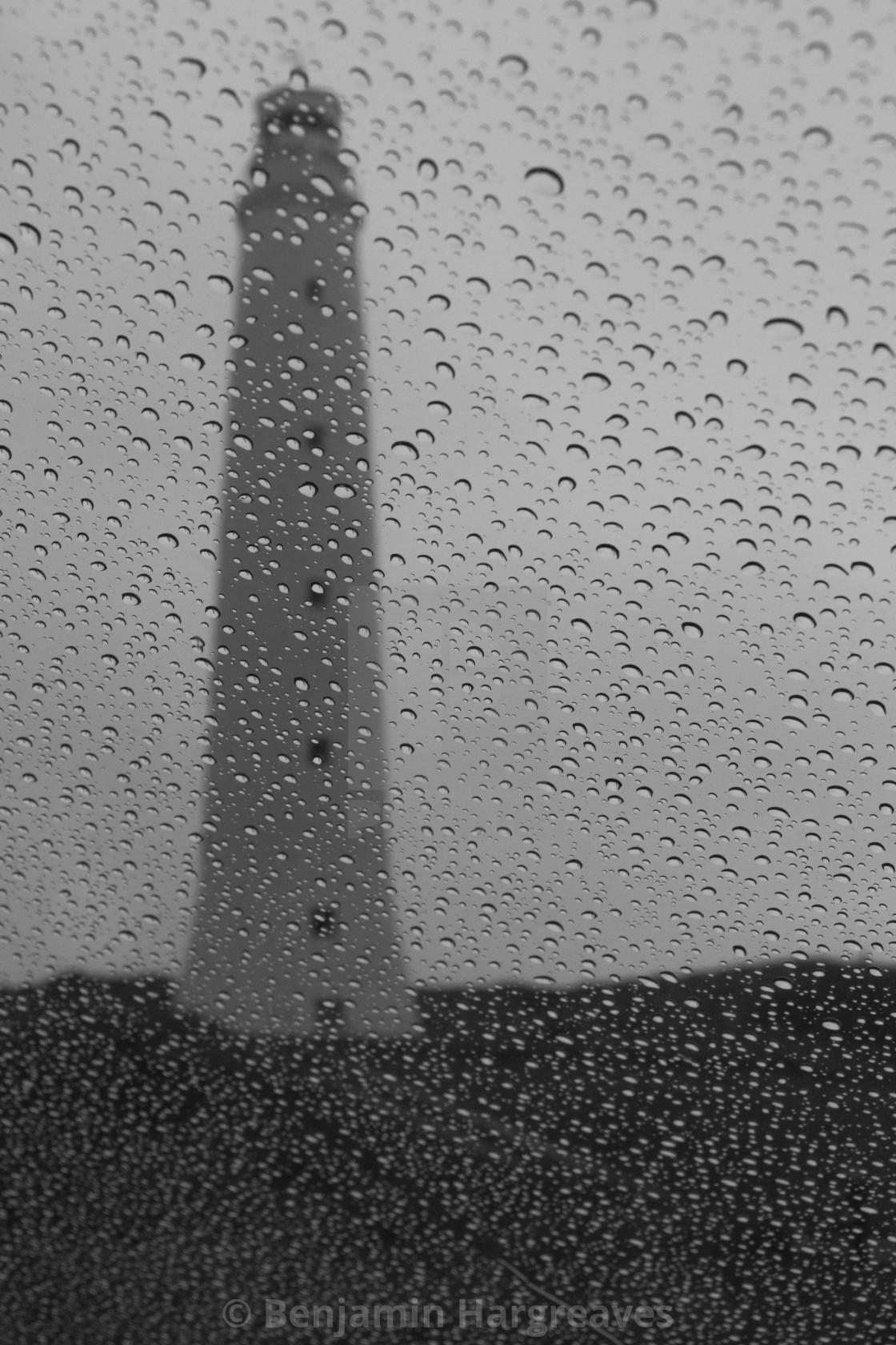 """""""Rainy Lighthouse"""" stock image"""