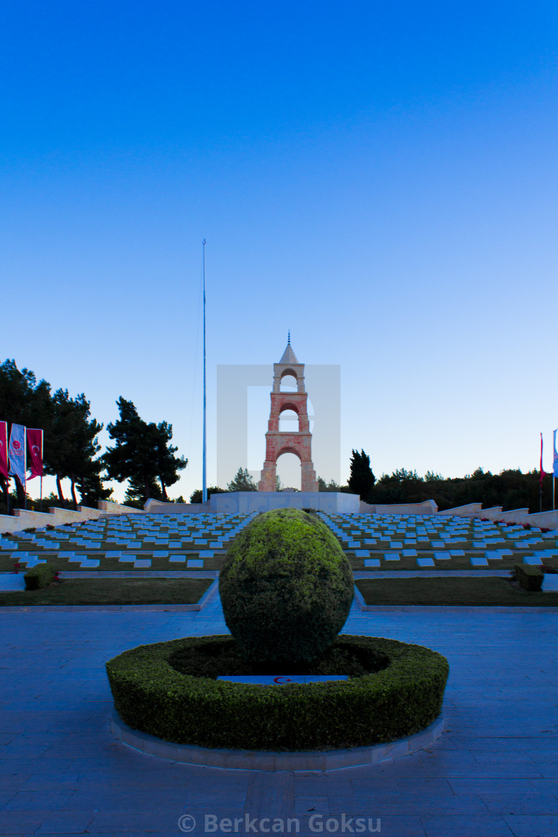 """""""The 57th Infantry Regiment Memorial. 57th was a regiment of the Ottoman Army during World War I."""" stock image"""