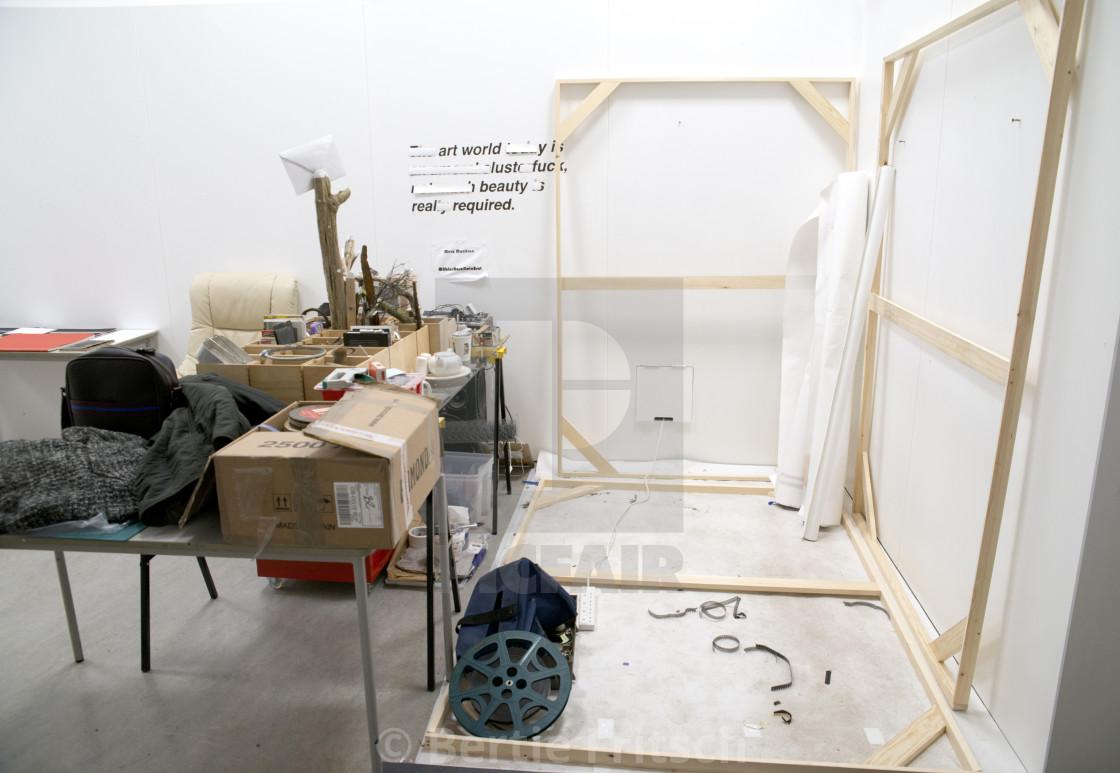 """Artist Studio Space"" stock image"