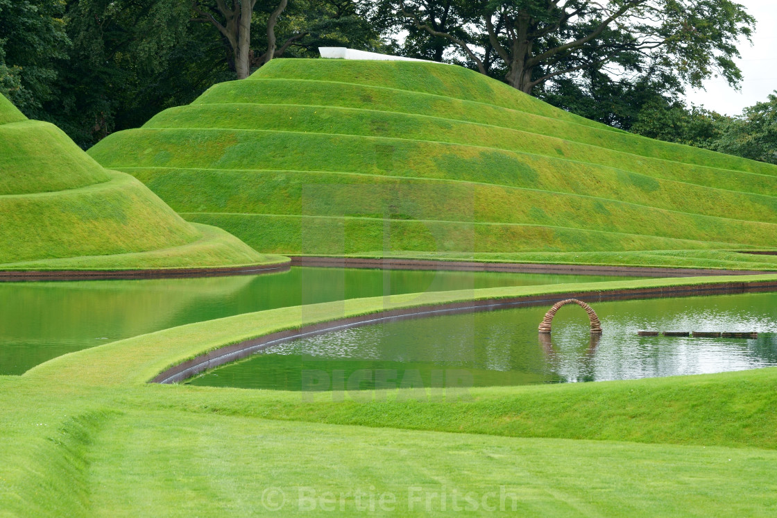 """Snake Mound Landscape"" stock image"
