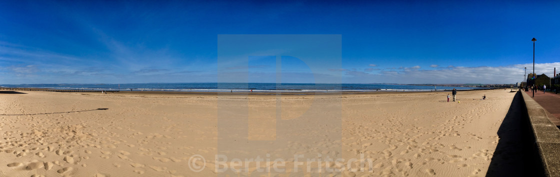 """Potobello Beach"" stock image"